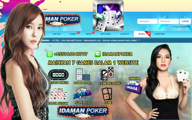 DominoQQ Online Idamanpoker