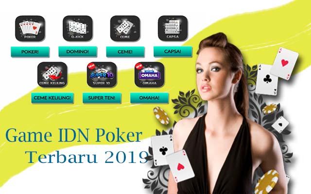 game judi online situs idn poker